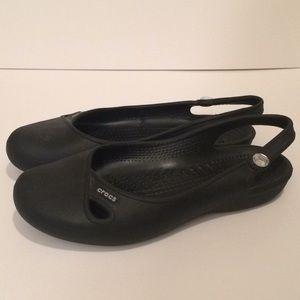 CROCS Shoes - $5 crocs black flats
